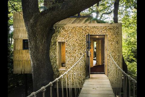 Woodsmans Treeshouse Brownlie Ernst and Marks